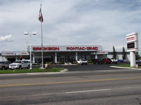 Erickson Pontiac Rexburg erickson pontiac gmc car dealers 890 w st