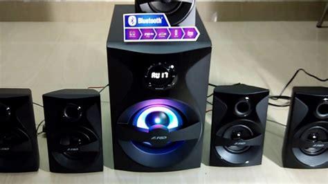 fd fx  multimedia speaker system unboxing