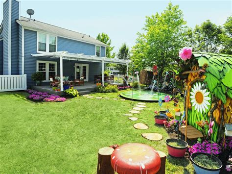 hgtv backyard makeover apply magical backyard makeovers landscaping ideas and