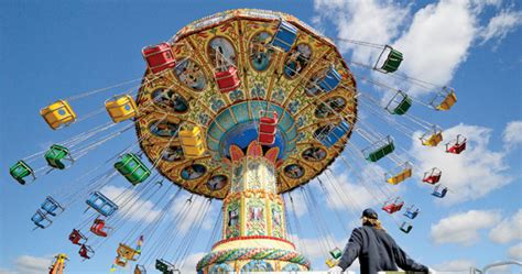 swings at amusement park the ideal three lens kit by peter k burian photonews