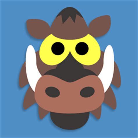 printable warthog mask masketeers printable masks printable wild boar mask