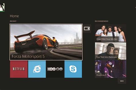 microsoft previews xbox one dashboard reveals console can