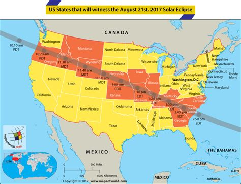 map usa eclipse 2017 solar eclipse 2017 map total great american solar