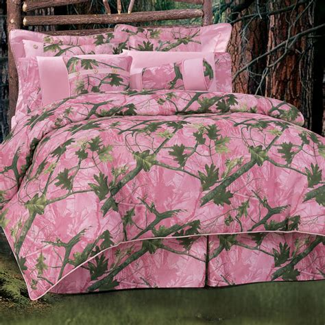 Realtree Pink Camo Crib Set by Pink Camo Bedding Collection