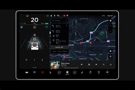 tesla model 3 navigation fiddle with the tesla model 3 s infotainment in this new
