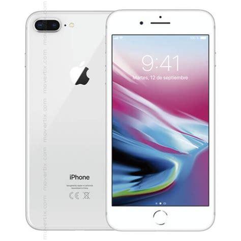 apple iphone 8 plus silver 256gb 0190198455710 movertix mobile phones shop