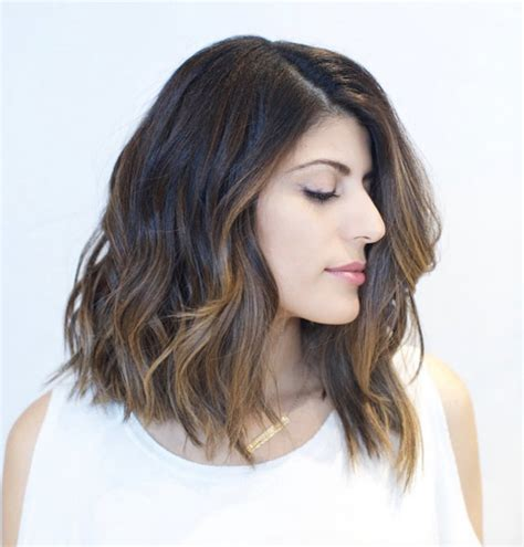 long asymmetrical lob 40 coveted lob hairstyles all women must see style skinner