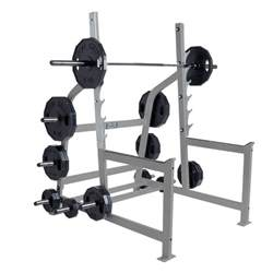 hammer strength olympic squat rack fitness