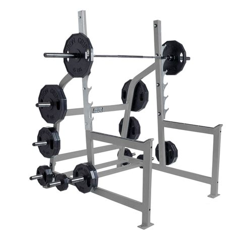 A Frame Squat Rack by Hammer Strength Olympic Squat Rack Fitness