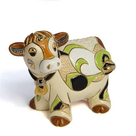Vache Decorative by Figurine De Vache D 233 Corative En C 233 Ramique De Rosa
