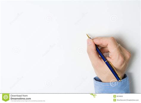 person writing on paper person writing on paper stock photo image 8018650
