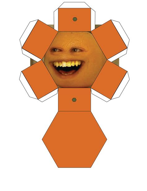 Papercraft Images - annoying orange papercrafts