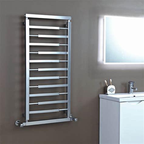 towel radiators for bathrooms vogue 1100mm x 500mm designer radiator polished chrome