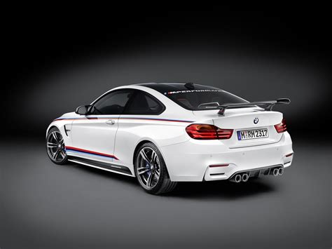 New BMW M4 M Performance Parts Introduced at SEMA 2015, Including CFRP Wing autoevolution