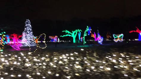 Detroit Zoo Lights Youtube Detroit Zoo Lights 2013