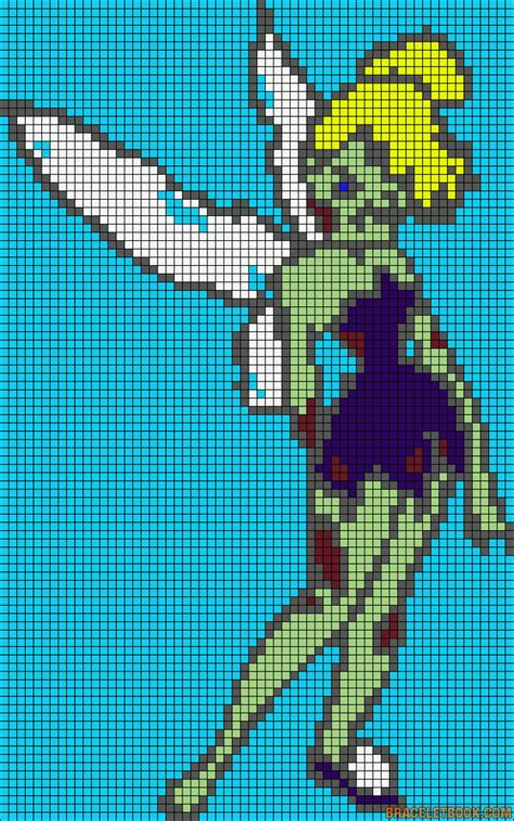 pattern zombie zombie tink pattern halloween patterns pinterest