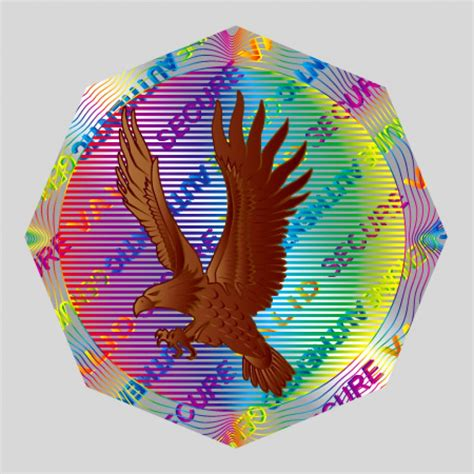 printable holographic stickers security hologram label printing online thestickerprinting