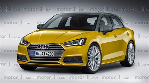Audi A1 Neu by New Audi A1 Speculatively Rendered