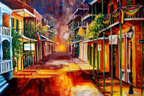 paint nite orleans quarter paintings