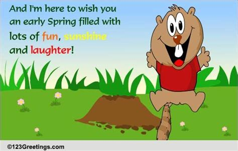 groundhog day 123 wish on groundhog day free groundhog day ecards