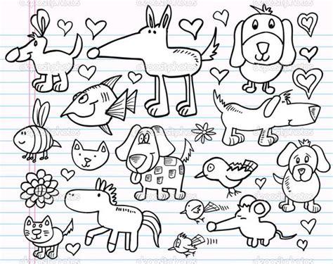 doodle animals animal doodles notebook doodle sketch animal design