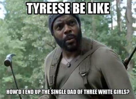 Tyreese Walking Dead Meme - twd tyrese the walking dead pinterest walking