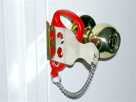 Temporary Door Lock From Outside by Addalock Adds Security To Virtually Any Door Getdatgadget