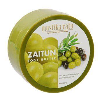 Mustika Ratu Boddy Butter Pepaya 200 Gr mustika ratu zaitun butter 200 gram olive