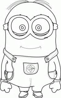 minion coloring sheet minions coloring pages bob coloring home