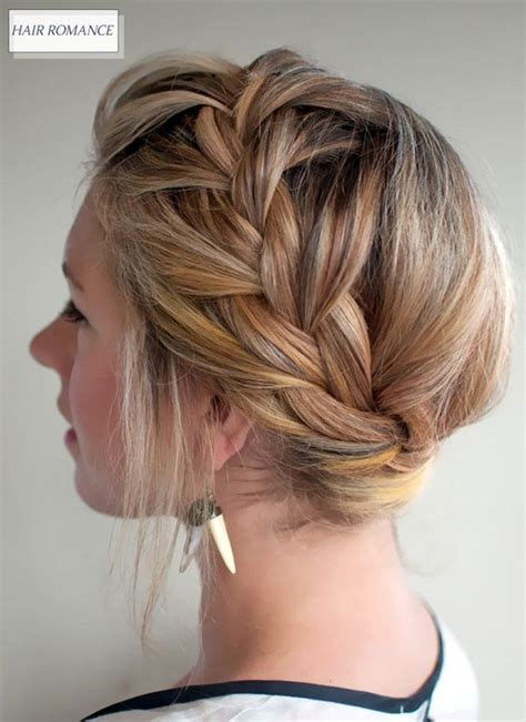 long hair with height in crown updo crown braids and braids medium hair on pinterest