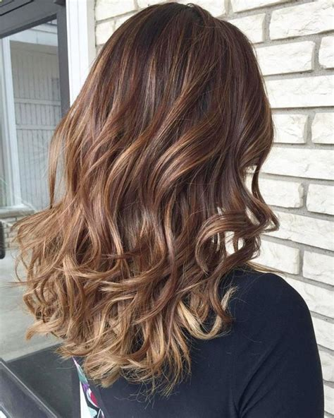 sombre natural hairstyles hottest hairstyle with caramel highlights 2017 haircuts