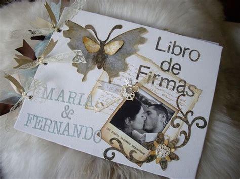 libro las dos bodas libros de firmas para bodas ideas asombrosas casandome