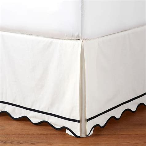 black and white bed skirt interior design products bookmarks design inspiration