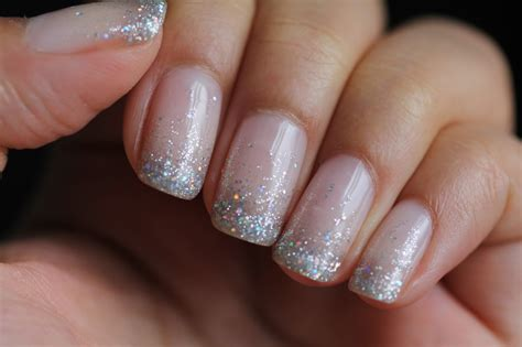 Shellac Nails dsk steph s nails glitter waterfall shellac nails