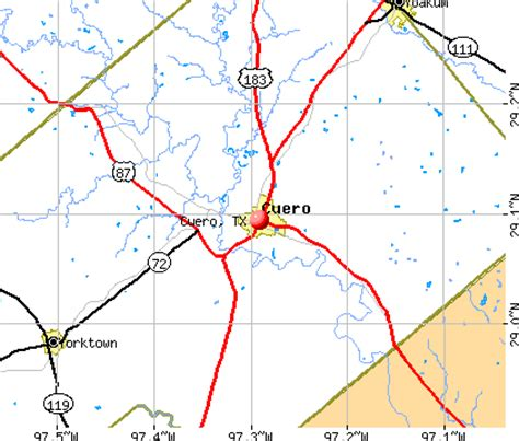 where is cuero texas on a texas map cuero texas tx 77954 profile population maps real estate averages homes statistics