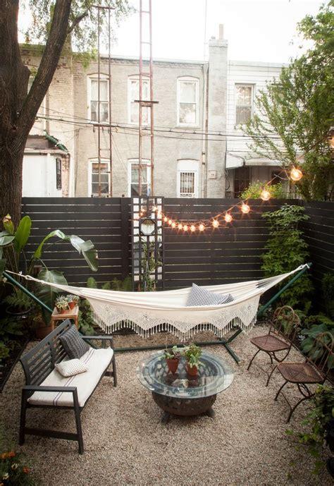 25 best ideas about backyard hammock on