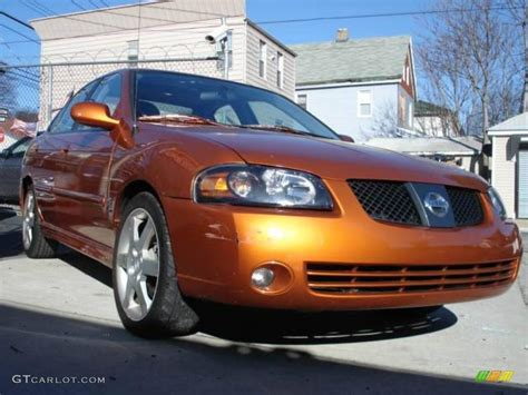 orange nissan sentra 2005 volcanic orange nissan sentra se r spec v 25752584