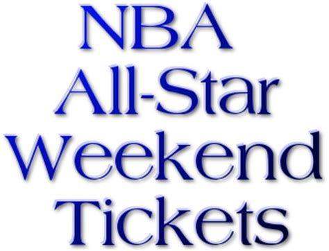All Weekend In City by Nba All Tickets Nba All
