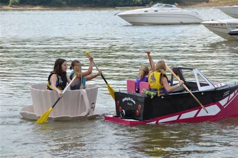 viking cardboard boat race cardboard boat races personal places i love to go