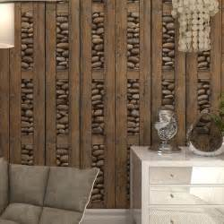 3d stone wallpaper contact paper 3d wall panels vinyl wood wallpaper