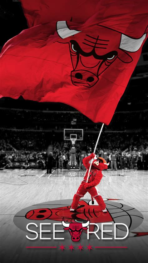 red bull iphone 6 wallpaper see red chicago bulls playoffs