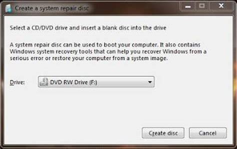 membuat dvd recovery windows 8 cara membuat cd dvd recovery repair windows 7 dengan