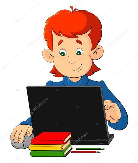 imagenes niños sentados ni 241 o de dibujos animados sentado en una mesa con un