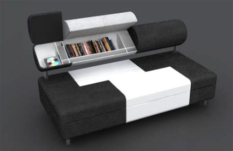 sofa with storage compartments saving space storage filled sofa has secret compartments