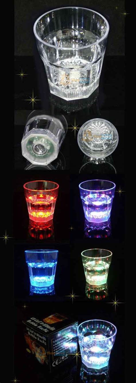 Lu Bak Led 001 By Jkotoparts 5pcs sale led light up drinkware rocks cup
