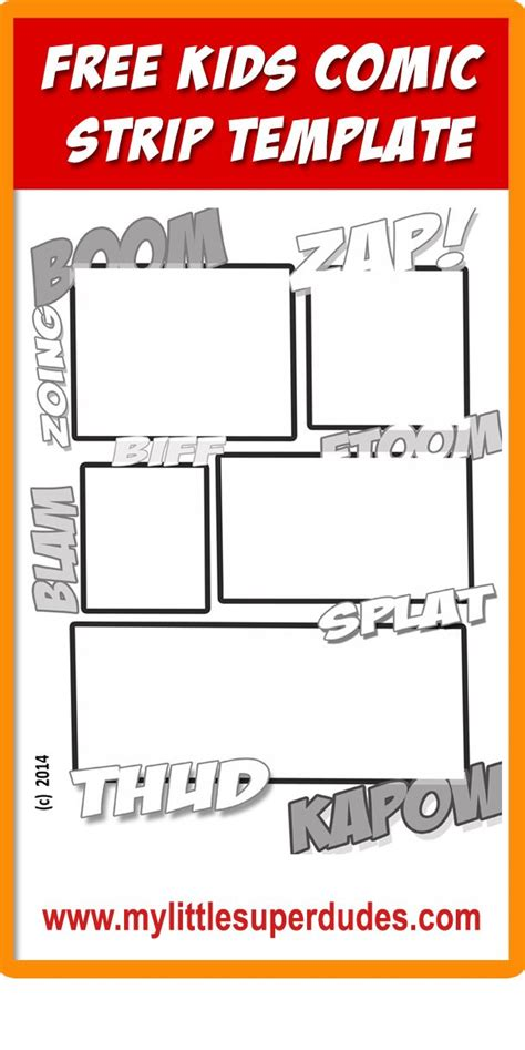 comic template creator 32 best images about free printables and