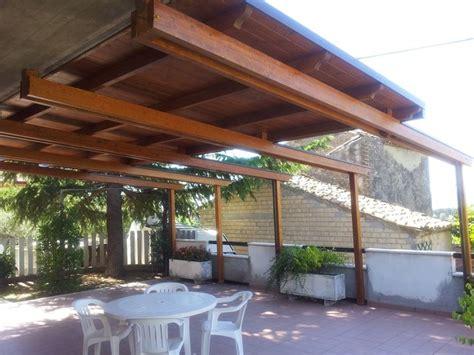 tettoia in legno per terrazzo copertura terrazzo in legno pergole e tettoie da