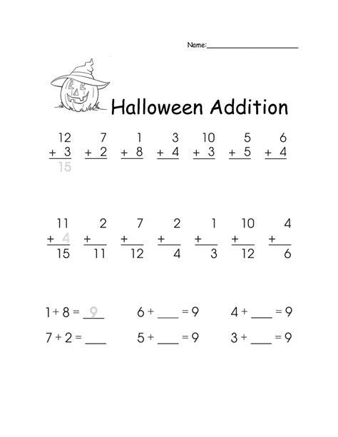 16 best images of halloween worksheets for 2nd grade