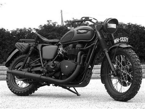 Schwarz Matt Motorrad by Triumph Motorcycle Matte Black All