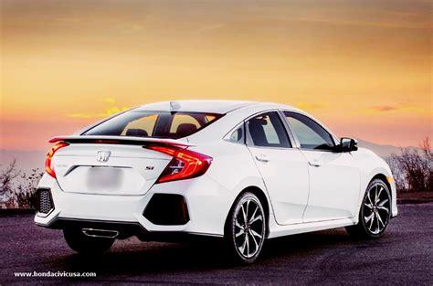 2020 Honda Civic Si Sedan by 2020 Honda Civic Sedan Si Price And Release Date Honda